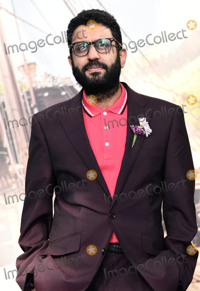 Adeel Adhta Photo - London UK Adeel Adhta at World Premiere of Pan at the Odeon Leicester Square London on September 20th 2015 Ref LMK392-58283-210915Vivienne Vincent Landmark Media WWWLMKMEDIACOM