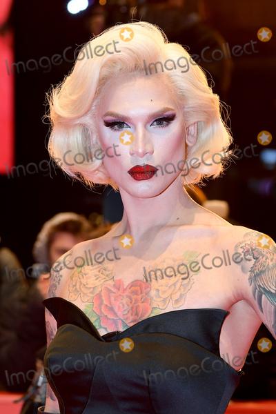 Trainspotting Photo - Berlin Germany      Miss Fame (Kurtis Dam-Mikkelsen)    at  T2 Trainspotting 2  premiere  at 67th Annual Berlinale International Film Festival   10th February 2017  Ref LMK200-62787-150217Landmark MediaWWWLMKMEDIACOM