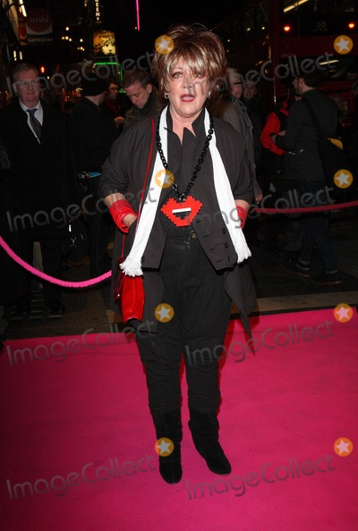Amanda Barry Photo - London UK Amanda Barrie at the Press night for My Trip DownThe Pink Carpet at the Apollo Theatre Shaftesbury Avenue 3rd Feberuary 2011Keith MayhewLandmark Media