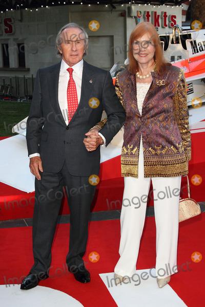 Jackie Stewart Photo - London UK Sir Jackie Stewart and Helen Stewart   at the World Premiere of  Rush  at the Odeon Leicester Square London  2nd September 2013 RefLMK73-45134-030913 Keith MayhewLandmark Media  WWWLMKMEDIACOM