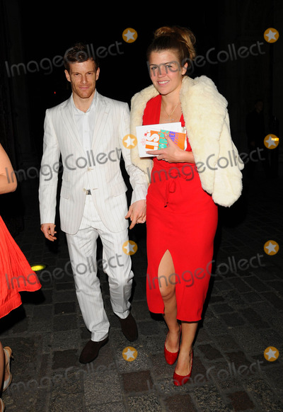 Amber Nuttall Photo - London UK  Tom Aikens and Amber Aikens (Amber Nuttall) at the Royal Academy Summer Exhibition Launch Party held at the Royal Academy in central London UK 4 June 2008 Ref   Can NgyuenLandmark Media