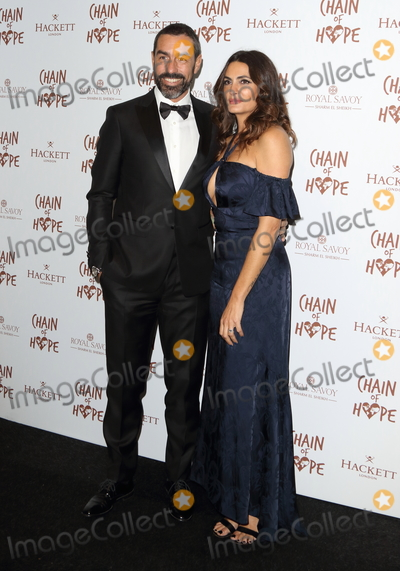 Photo - London UK   Robert Pires and Jessica Pires at the Chain Of Hope Ball at Old Billingsgate Lower Thames Street London 16 November 2018 RefLMK73-S1930-171118Keith MayhewLandmark Media WWWLMKMEDIACOM