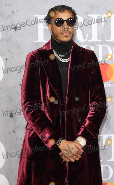 AJ Tracey Photo - LondonUK AJ Tracey  at The BRIT Awards 2019 at The O2 Peninsula Square London on 20th February  2019 RefLMK73-S2174-210219Keith MayhewLandmark MediaWWWLMKMEDIACOM