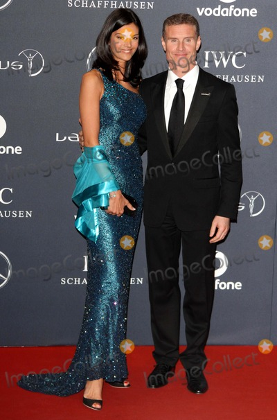 David Coulthard Photo - London UK  David Coulthard and guest    at the Laureus World Sports Awards held at the Queen Elizabeth II Centre Westminster London 6th February  2012   Keith MayhewLandmark Media  EXCEPT GERMANY AUSTRIA AND SWITZERLAND