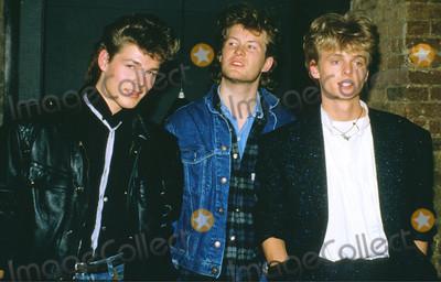 A-Ha Photo - ARCHIVE PHOTOSLondonUK  A-ha Norwegian band including Morten Harket Magne Furuholmen and Paul Waaktaar-Savoy in archive pictures from the 1980sCaptioned 13 November 2018Ref LMK11-MB2030-131118PIPLandmark Media WWWLMKMEDIACOM