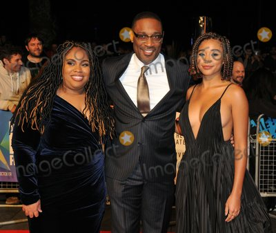 George Tillman Jr Photo - London UK  Angie Thomas George Tillman Jr and Amandla Stenberg    at  the Special Presentation and European Premiere of The Hate U Give  at The 62nd BFI London Film Festival at Cineworld Leicester Square London England UK on Saturday 20 October 2018 Ref  LMK315-S1697-211018Can NguyenLandmark MediaWWWLMKMEDIACOM