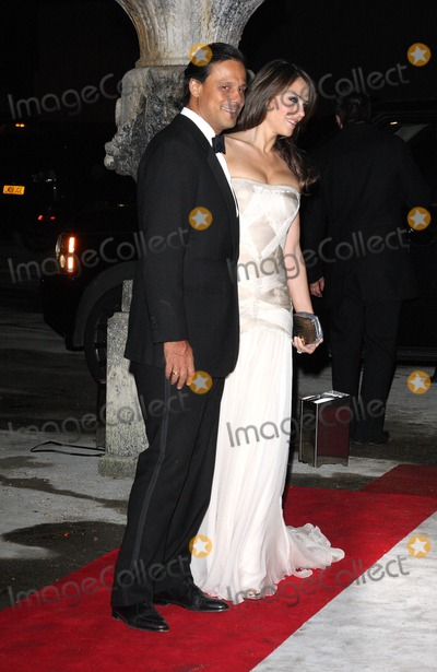 Arun Nayer Photo - London UK Arun Nayer and Elizabeth Hurley   at the  Grey Goose Character and Cocktails event  The Elton John AIDS Foundation Winter Ball at Maison de Mode  London  30th October 2010Keith MayhewLandmark Media