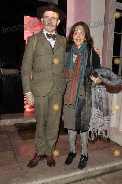 Billy Childish Photo - London UK  Billy Childish and guest at the  Jimmy Choo hosts dinner in honour of artist Rob Pruitt at No 35 Belgrave Square London 11th October 2012 Keith MayhewLandmark Media