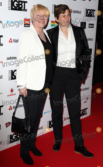 Angela Eagle Photo - LondonUK Labour Party MP Angela Eagle (L) and partner Maria Exall   at the The British LBGT Awards at the Grand Connaught Rooms Covent Garden London 12th May 2017RefLMK73-S235-130417Keith MayhewLandmark MediaWWWLMKMEDIACOM