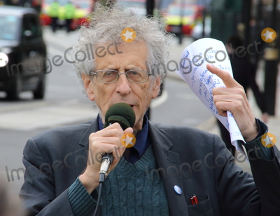 Photo - Piers Corbyn - protest