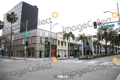 Photos From Rodeo Drive Beverly Hills Businesses Temporarily Closed Amid Coronavirus COVID-19 Pandemic