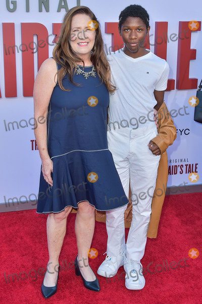 Ann Dowd Photo - WESTWOOD LOS ANGELES CALIFORNIA USA - AUGUST 06 Ann Dowd and Trust Arancio arrive at Hulus The Handmaids Tale Season 3 Finale Celebration held at Regency Village Theatre on August 6 2019 in Westwood Los Angeles California United States (Photo by Image Press Agency)