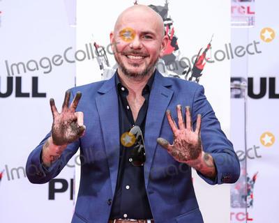 Photos From Pitbull Hand And Footprint Ceremony