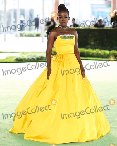 Photo - LOS ANGELES CALIFORNIA USA - SEPTEMBER 25 Actress Thuso Mbedu arrives at the Academy Museum of Motion Pictures Opening Gala held at the Academy Museum of Motion Pictures on September 25 2021 in Los Angeles California United States (Photo by Xavier CollinImage Press Agency)