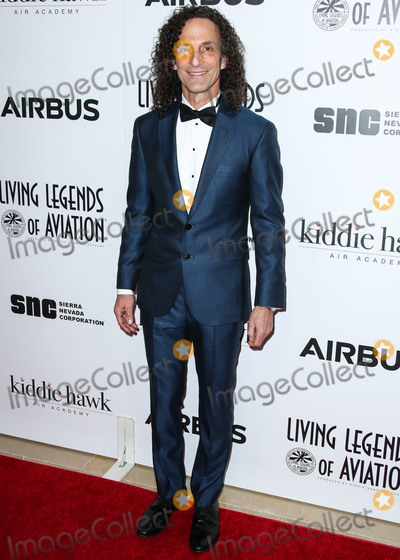 Photo - BEVERLY HILLS LOS ANGELES CA USA - JANUARY 18 Saxophonist Kenny G (Kenneth Bruce Gorelick) arrives at the 16th Annual Living Legends Of Aviation Awards held at The Beverly Hilton Hotel on January 18 2019 in Beverly Hills Los Angeles California United States (Photo by Xavier CollinImage Press Agency)