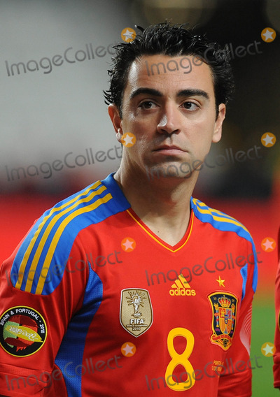 Xavi Hernandez Photo - Lisbon Portugal 11-17-2010 Portugal Vs Spain International Friendly Match in Picture Xavi Hernandez Photo by Alvaro Isidoro-cityfiles-Globe Photos Inc