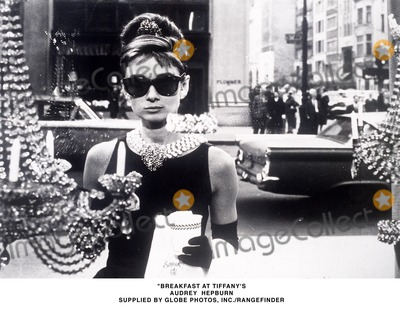 Photo - Breakfast at Tiffanys Audrey Hepburn Supplied by Globe Photos Incrangefinders