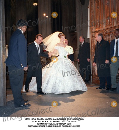 Photos And Pictures Tommy Mottola Thalia Sodi S Wedding At St Patrick Cathedral Nyc 12 02 2000 Photo By Bruce