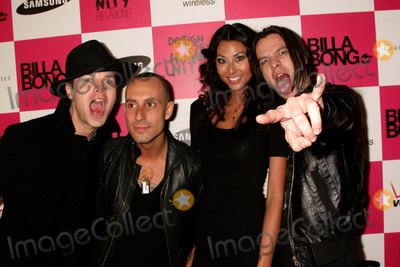 Adam Alt Photo - Billabong USA 3rd Annual Design For Humanity Event Avalon Hollywood CA 061709 Street Drum Corps - L-r- Bobby Alt Frank Zumo Natasha Aiken and Adam Alt Photo Clinton H Wallace-photomundo-Globe Photos Inc