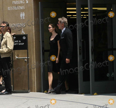 Calista Flockhart,Gregory Peck,Harrison Ford Photo - Gregory Peck Funeral