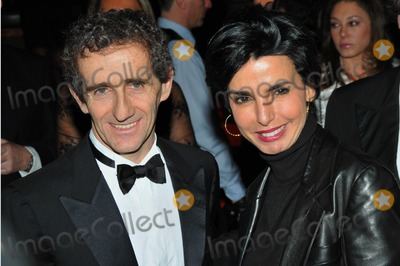Alain Prost Photo - Rachida Dati and Alain Prost Opening Ceremony of the 24th International Automobile Festival at the Hotel National in Paris 02-10-2009 Photo by Fay Alexandre-pix Planete-Globe Photos Inc