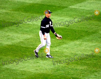 Aaron Rowand Photo - the Yankees Vs the White Sox at Yankee Stadium in the Bronx New York City 4112004 Photo Bywilliam ReganGlobe Photos Inc 2004 Aaron Rowand