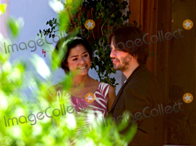 Photo - Keanu Reeves with His Sister Kim in Capri