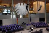 Angela Merkel Photo - Bundeskanzlerin Angela Merkel (CDU) gab am 29 Januar 2014 ihre Regierungserklaerung im Deutschen Bundestag im Sitzen ab German Chancellor Angela Merkel (CDU) announced on 29 January 2014 her government declaration by sitting in the German Bundestag The picture shows the plenary of the German BundestagCredit Stockiface to face