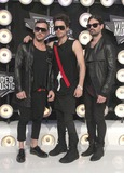30 Seconds to Mars Photo - 28 August 2011 - Los Angeles California - Jared Leto (C) Shannon Leto (R) and Tomo Milicevic of 30 Seconds to Mars 28th Annual MTV Video Music Awards held at Nokia Theatre LA Live Photo Credit Russ ElliotAdMedia