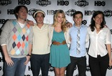 April Bowlby Photo - 17 July 2011 - West Hollywood California - Clay Aiken  Ben Feldman and April Bowlby Josh Berman 2011 Outfest Film Festival Screening Of Drop Dead Diva  Held At The DGA Theatre Photo Credit Kevan BrooksAdMedia