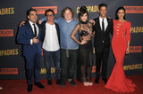 Aislinn Derbez Photo - 19 April 2016 - Hollywood California - Omar Chaparro Enrique Begne Joey Morgan Camila Sodi Erik Elias Aislinn Derbez Arrivals for the Los Angeles premiere of Compadres held at ArcLight Hollywood Photo Credit Birdie ThompsonAdMedia