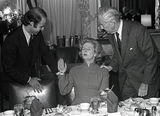 Alabama Photo - Newly elected British Conservative Party Leader Margaret Thatcher center is shown with the Chairman of the United States Senate Foreign Relations Committee US Senator John Sparkman (Democrat of Alabama) right and US Senator Joseph Biden (Democrat of Delaware) left as she attends a luncheon in her honor in the Foreign Relations Committee Room in the United States Capitol in Washington DC on Thursday September 18 1975  Mrs Thatcher is the first woman elected Conservative Party leaderCredit Benjamin E Gene Forte - CNPAdMedia