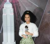 Yara Shahidi Photo - 08 March 2019 - New York New York - Yara Shahidi Yara Shahidi for Mattel lights the Empire State Building pink for Barbies 60th Anniversary Photo Credit LJ FotosAdMedia