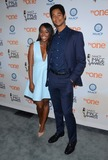 Alfred Enoch Photo - 09 December 2014 - Beverly Hills California - Aja Naomi King Alfred Enoch 46th Annual Image Awards nomination announcement and press conference held at The Paley Center for Media in Beverly Hills Ca Photo Credit Birdie ThompsonAdMedia