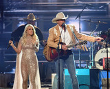 Alan Jackson Photo - 08 November 2017 - Nashville Tennessee - Carrie Underwood Alan Jackson Brad Paisley 51st Annual CMA Awards Country Musics Biggest Night held at Bridgestone Arena Photo Credit Laura FarrAdMedia