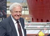 David Attenborough Photo - 26092019 - Sir David Attenborough during the naming ceremony of Britains new polar research ship the RRS Sir David Attenborough at Camel Laird Shipyard in Birkenhead Merseyside Photo Credit ALPRAdMedia