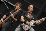 Alter Bridge Photo - 21 May 2011 - Columbus Ohio - Guitarist MARK TREMONTI and bassist BRIAN MARSHALL of the band ALTER BRIDGE performs as part of the Rock On The Range festival held at Columbus Crew Stadium Photo Credit Jason L NelsonAdMedia