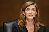 Foreigner Photo - Samantha Power nominee to be Administrator of the United States Agency for International Development gives an opening statement during her confirmation hearing before the Senate Foreign Relations Committee Tuesday March 23 2021Credit Greg Nash  Pool via CNPAdMedia