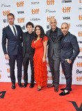 Kim Nguyen Photo - 08 September 2018 - Toronto Ontario Canada - Alexander Skarsgrd Jesse Eisenberg Salma Hayek Kim Nguyen and Michael Mando The Hummingbird Project Premiere - 2018 Toronto International Film Festival held at the Princess of Wales Theatre Photo Credit Brent PerniacAdMedia