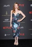 Jaime Ray Newman Photo - 10 January 2016 - Los Angeles California - Jaime Ray Newman 2016 Weinstein Company  Netflix Golden Gloves After Party held at the Beverly Hilton Hotel Photo Credit AdMedia