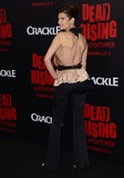 Kim Novak Photo - 11 March 2015 - Los Angeles California - Carrie Genzel  Arrivals for Crackles world premiere original feature film Dead Rising Watchtower held at the Kim Novak Theater at Sony Pictures Studios Photo Credit Birdie ThompsonAdMedia