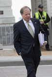 Alabama Photo - United States Senator Doug Jones (Democrat of Alabama) departs the United States Capitol in Washington DC US in Washington DC US on Monday February 3 2020 as the impeachment trial of United States President Donald J Trump adjourned for the day  The Senate is expected to vote on a final verdict on Wednesday  Credit Stefani Reynolds  CNPAdMedia