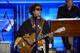 Lenny Kravitz Photo - Lenny Kravitz performs during the third session of the 2016 Democratic National Convention at the Wells Fargo Center in Philadelphia Pennsylvania on Wednesday July 27 2016 Photo Credit Ron SachsCNPAdMedia
