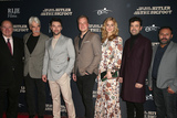 Aidan Turner Photo - 04 February 2019 - Hollywood California - Sam Elliott Caitlin Fitzgerald Ron Livingston Larry Miller Aidan Turner Robert D Krzykowski Rizwan Manji The Man Who Killed Hitler and Then the Bigfoot Los Angeles Premiere held at Arclight Hollywood Photo Credit Faye SadouAdMedia