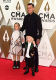 CMA Award Photo - 13 November 2019 - Nashville Tennessee - Jameson Hart Willow Hart Carey Hart 53rd Annual CMA Awards Country Musics Biggest Night held at Music City Center Photo Credit Laura FarrAdMedia