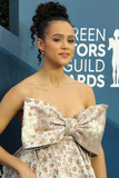 Nathalie  Photo - 19 January 2020 - Los Angeles California - Nathalie Emmanuel 26th Annual Screen Actors Guild Awards held at The Shrine Auditorium Photo Credit AdMedia