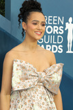 Nathalie Emmanuelle Photo - 19 January 2020 - Los Angeles California - Nathalie Emmanuel 26th Annual Screen Actors Guild Awards held at The Shrine Auditorium Photo Credit AdMedia