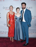 Emily Blunt Photo - 08 March 2020 - New York New York - Emily Blunt Millicent Simmonds and John Krasinski at the World Premiere of A QUIET PLACE PART II in the Rose Theater at Jazz at Lincoln Center Frederick P Rose Hall Photo Credit LJ FotosAdMedia