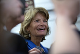 Alaska  Photo - United States Senator Lisa Murkowski (Republican of Alaska) speaks to members of the media after a vote passed to deny any new witnesses in the impeachment trial of United States President Donald J Trump on Capitol Hill in Washington DC US on Friday January 31 2020 Credit Stefani Reynolds  CNPAdMedia
