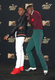 Ashton Sanders Photo - 07 May 2017 - Los Angeles California - Ashton Sanders Jharrel Jerome 2017 MTV Movie And TV Awards held at the Shrine Auditorium Photo Credit AdMedia